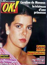 OK! 1980: CAROLINE DE MONACO_BO DEREK_KAREN CHERYL_MICHEL FUGAIN_MARTIN CIRCUS