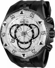 Invicta Excursion 24278 Men's Round Chronograph Date Black Silicone Watch