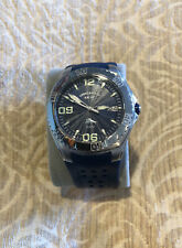 Tommy Bahama Relax RLX1089 Blue Rubber Wristband Mens Watch 10ATM