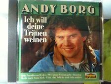 Andy Borg Ich will deine Tränen weinen [CD]