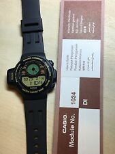 rare vintage casio CPW-300 Player Compass watch Muslims NOS NEW Made In Japan