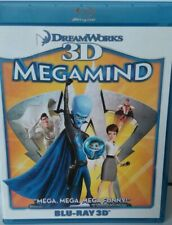Megamind  3D  Blu-ray  (3D & 2D Mode) Animation Family Kids Children