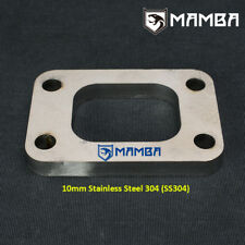 MAMBA Garrett HKS T2 T25 GT25R GT28R Turbo Turbine Inlet Flange SS304 10mm