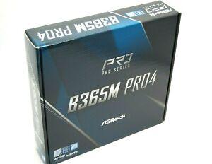 ASRock B365M Pro4,Mainboard,Motherboard,Sockel 1151,Neu&OVP, LGA1151,i3/i5/i7/i9