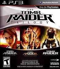 * New * The Tomb Raider Hd Trilogy - Sony PlayStation 3 ps3 Lara Croft Usa
