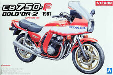 1981 Honda CB750 F Bold'Or-2 Option Bike 1:12 Model Kit Bausatz Aoshima 053126