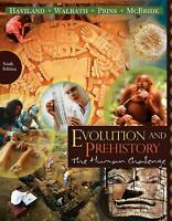Evolution and Prehistory : The Human Challenge by Haviland, William A.