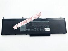 84Wh WJ5R2 battery for Latitude 5570 E5570 Precision 3510 4F5YV CHD04 G9G1H New