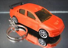 Orange Mitsubishi Lancer Evolution Key Chain Ring