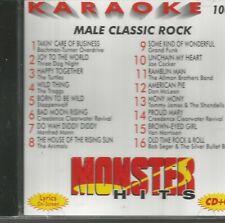 Male Classic Rock - Karaoke - CD - Brand New!