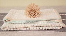 New listing Beautiful Handmade Crochet Baby Blanket/Afghan - Pastel Multi