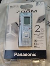 New old stock rare Panasonic Rr-Us571 Digital Recorder 2gb stereo/mp3