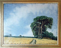 Richard Pietzsch 1872-1960: Ammersee Öl 1903 Hochsommer 72 x 83 cm AUSSTELLUNG
