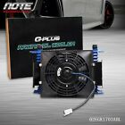 Fit For 15 Row Universal Engine Transmission Oil Cooler7 Fixed Cooling Fan Kit