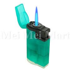 Jet Torch Lighter Rubber Finish Adjustable Windproof Butane Refillable J9447