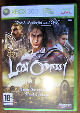 Lost Odyssey Xbox 360 Game Complete With Manual Very Good Condition 4 Disc