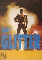 GARY GLITTER TOUR POSTER / KONZERTPLAKAT