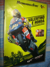 DVD N°3 MOTOMONDIALE STORY OFFICIAL COLLECTION MOTO GP VALENTINO ROSSI E HONDA