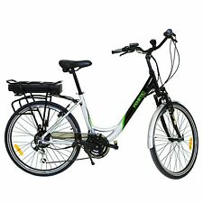 Fenetic Fusion Step Through Electric Bike E-bike With Suspension