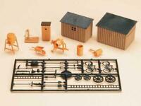 BNIB 42571 OO HO Gauge Garden Sheds, Tools, Mixer,Roller, Water Pump etc Auhagen