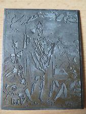"""Alte Druckplatte - mit Motiv """"The Resurrection"""" -  von Albrecht Dürer"""