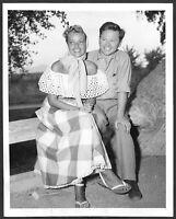 Mickey Rooney Martha Vickers Original 1940s Candid Press Photo 40s Fashion