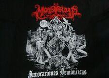 MORBOSIDAD - Invocaciones Demoniacas, T-SHIRT, LARGE SIZE