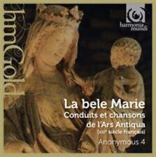 BELE MARIE: CONDUITS ET CHANSONS DE L'ARS ANTIQUA NEW CD