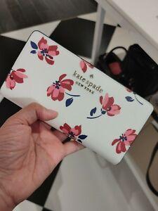 NWT Kate Spade Staci Tea Garden Slim Bifold Wallet in Floral Multi