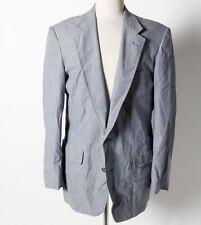 Brooks Brothers Brooksgate Men's Blue 100% Cotton 2-Button Blazer Sportcoat 42R