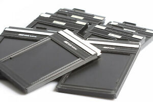 7 Stück Toyo Cut / Fidelity Elite Film Holder 9x12cm Doppelplanfilmkassetten