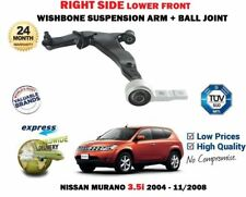 FOR NISSAN MURANO 3.5 2004-> RIGHT FRONT LOWER WISHBONE SUSPENSION ARM + JOINT