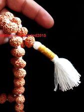 Rare 10 Mukhi Rudraksha /Ten Face Rudraksh Mala / Narayan Mala 54 Java Beads~Lab