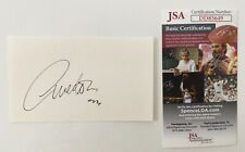 Richard Avedon Signed Autographed 3x5 Card JSA Certified Photographer