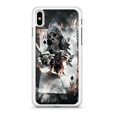 Skull Grim Reaper Ace Of Spades Gambling Blackjack Card Game Phone Case Cover