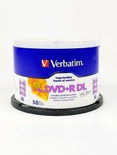 Verbatim DVD-R DL 8.5gb 240 Mins 50 Disc