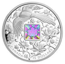 2011 Canada Fine Silver $15 Maple of Happiness