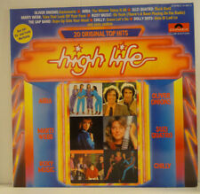 "V.A.- HIGH LIFE - 20 Original Top Hits -Abba|Chilly|Sweet|Saxon > 12"" Vinyl LP"
