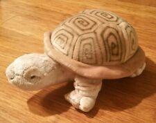 "Aurora Sea Tortoise Turtle Plush Stuffed Animal Doll Toy 13"" Brown"