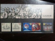 (20) - UK Mint Stamps in Presentation Pack - Europa 92