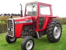 Massey Ferguson 550 565 575 590 Tractor Service Repair Manual