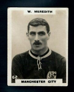PHILLIPS PINNACE FOOTBALLERS BILLY MEREDITH - MANCHESTER CITY - TYPE CARD
