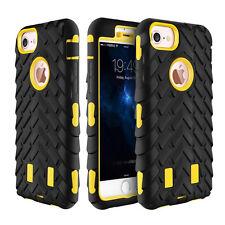 ANTICHOQUE Híbrido Resistente Protector Funda Caucho para iPhone 6 6s 7 Plus