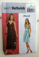 Oop  Butterick 4977 Muse Summer lined halter dress Sizes 14-20 NEW