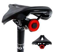 Smart Bicycle Rear Light Auto Start Stop Brake Sensing Tail Taillight Bike LED