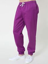 American Apparel Sateen Billionaire Pant Hot Orchid Purple XS