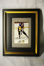 RARE Mario Lemieux Canadian Sports Portrait Old Pittsburg Penguins Hockey Card