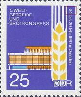 DDR 1970 Plattenfehler 1576I, postfrisch