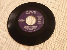 JOHNNY OCTOBER MY BABY JUST CARES FOR ME/UH-HUH CAPITOL 4417 M-