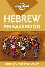 Hebrew (Lonely Planet Phrasebook), Good Condition Book, Rudelson, Justin Ben-Ada